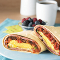 Breakfast Beef Burritos