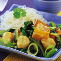 Stir Fried Scallops