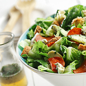 Romaine-Tarragon Salad with Blue Cheese Vinaigrette