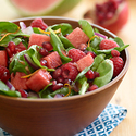 Watermelon Pomegranate Toss Salad