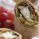 Roasted Fish Crispy Slaw Wrap